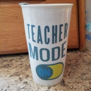 Teacher mode coffee cup